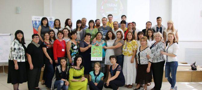 Training de formare în leadership pentru lideri comunitari din 22 localităţi a Republicii Moldova