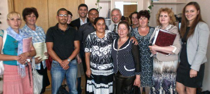 Mediatorii comunitari romi la dialog cu reprezentanții Guvernului