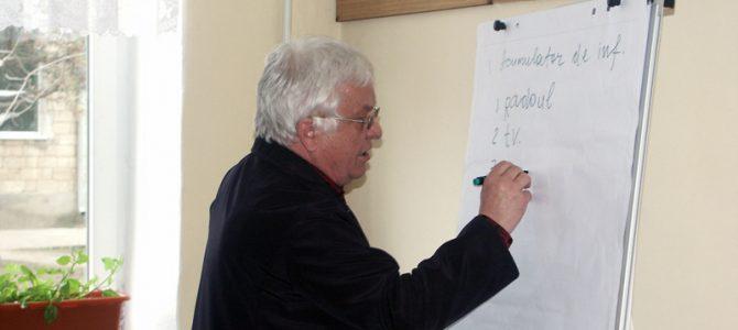 Educăm forțe noi în domeniul jurnalismului comunitar