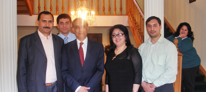 Moldovan Roma activists met with the USA ambassador in Moldova Asif Chaudhry
