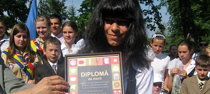Copiii Școlii de democrație au făcut față provocării…