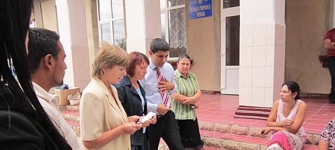 Vizita în satele Cărpineni și Minjir, raionul Hîncești