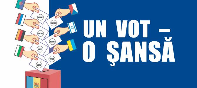 Un vot – o şansă