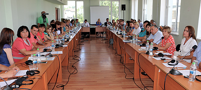 Regional Peer-to-Peer event in the south of Moldova