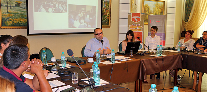 Regional Peer-to-Peer event for the central region of Moldova