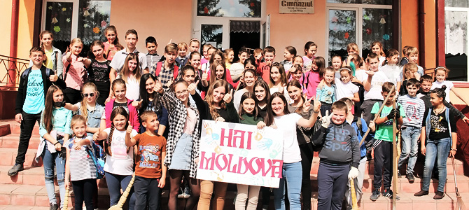 Institute for Rural Initiatives delighted by the massive involvement of our partner communities in the Hai Moldova campaign