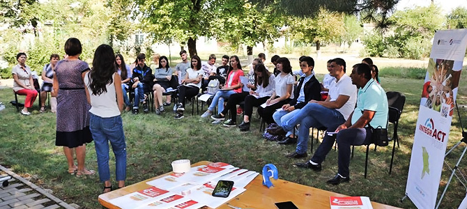 A special start of a school year: a group of young activists on the 1st of September went to school. And no, it is not a mistake