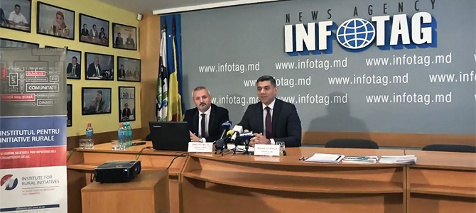 IMAS survey results ordered by the Institute for Rural Initiatives (IRI):  Although one out of three Moldovan citizens claim to be involved in the life of their community an overwhelming majority of Moldovan citizens do not use formal ways to solve a community issue, neither communicate with local elected authorities or other state representatives