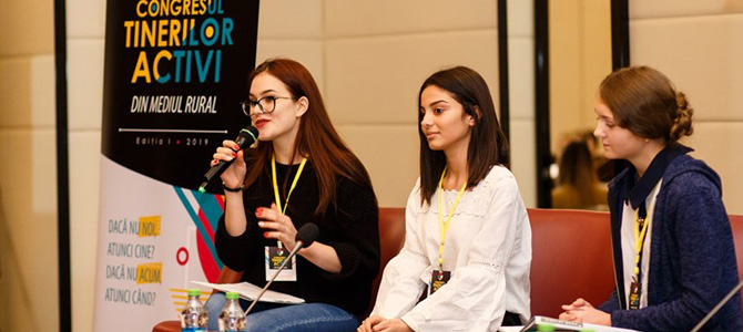 """Moldovan's youth from rural areas can save the country by getting involved"" – one of the conclusions made at the first Rural Youth Congress from the Republic of Moldova"