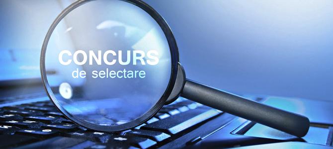 TERMEN EXTINS CONCURS: Căutăm consultant