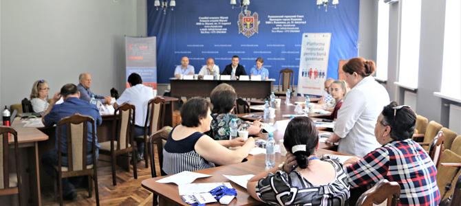Platforma Regională de Participare pentru bună guvernare: o punte de comunicare între autoritățile locale și cetățenii din raionul Rîșcani