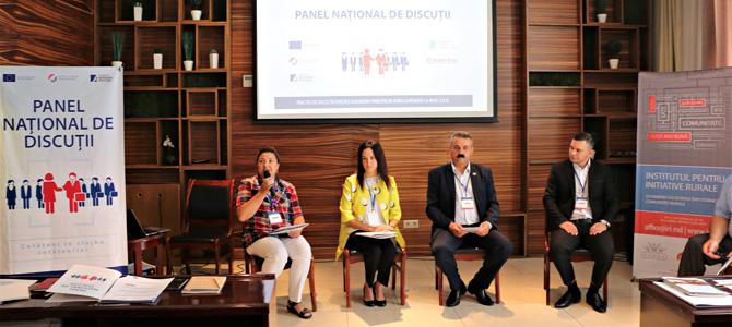 """Panel național de discuții """"Bune practici de bună guvernare în regiunea Nord"""""""