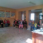 Parent guidance meeting in Theoretical Lyceum Mihai Eminescu, Hincesti